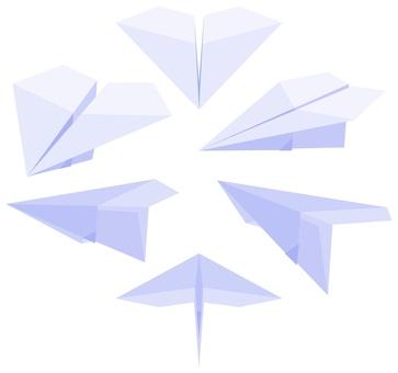 Paper flying machine -002