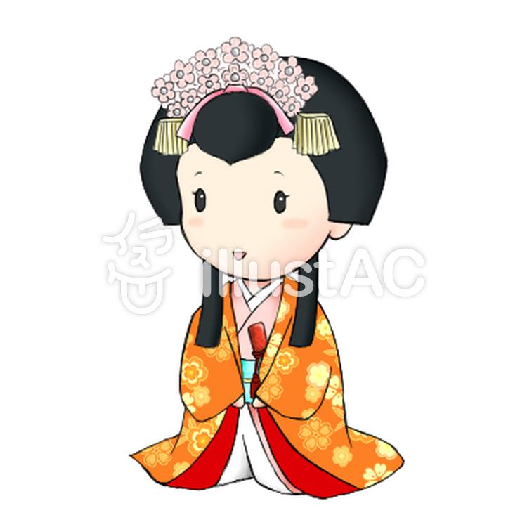 日本のお姫様イラスト No 565256無料イラストならイラストac