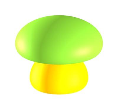 화려한 버섯 ⑤
