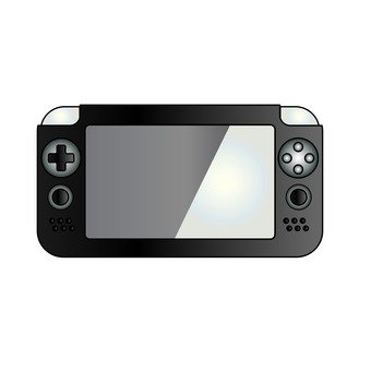 Mobile game machine (black)