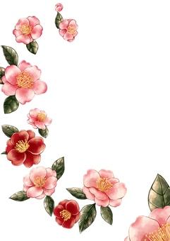 Saturn flower Chinese style illustration