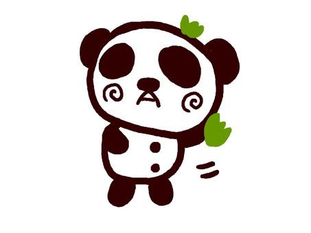 Bamboo dancing panda