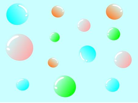 Shabbun ball colorful background