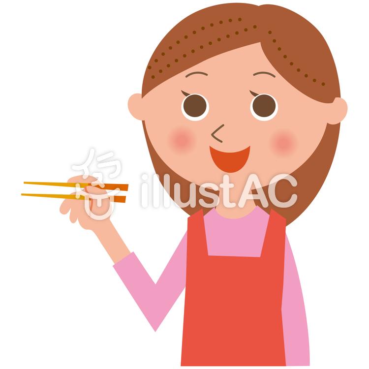 料理する女性イラスト No 1033650無料イラストならイラストac