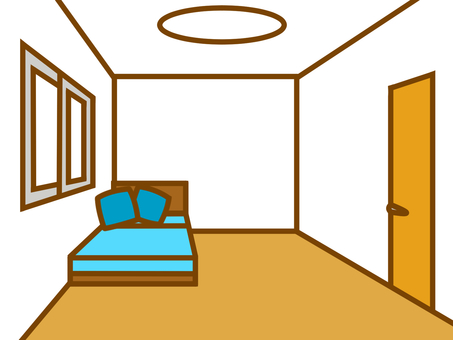 Bed and Western room 20170924-8
