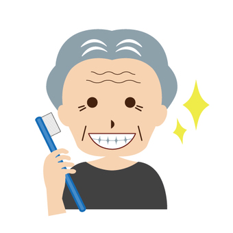 Toothpaste image (old people)