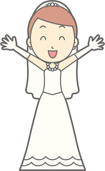Bride dress - Banzai - whole body