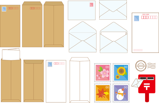 Postcard envelope