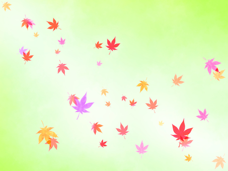 Maple background (yellow green)