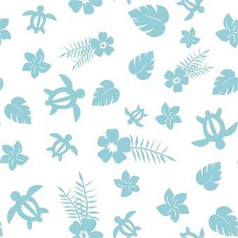 Hawaiian pattern pattern