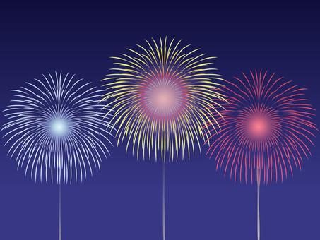 Fireworks fire - 1