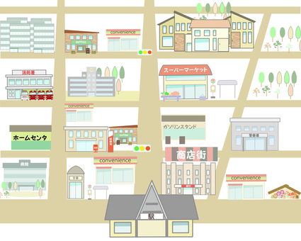 Cityscape 1 Map