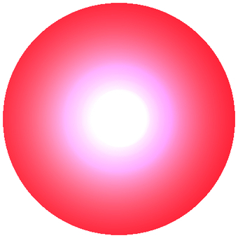 LED red circle