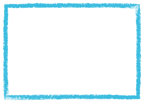 Crayon touch frame blue