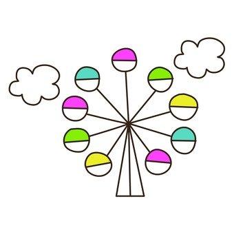 Pop Ferris wheel