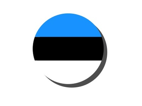 Estonian circle icon