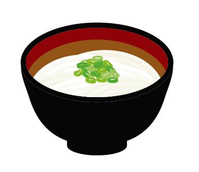 Udon udon noodles
