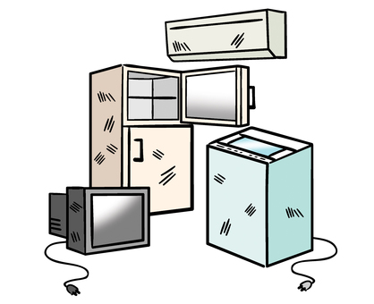 Home appliance recycling