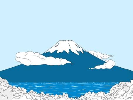 Fuji Illustration 【Winter】
