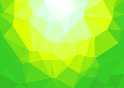 Green digital polygon vector background material