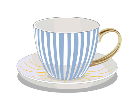 Teacup stripes