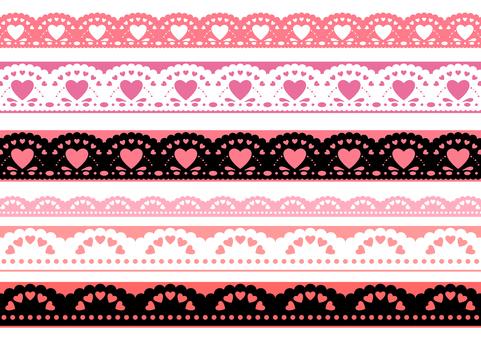 Valentine material 23