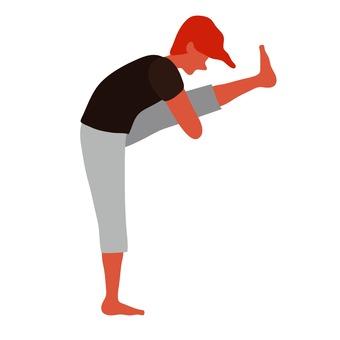 Stretching men