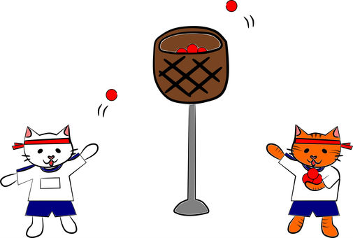 Nyankoi athletic meet. A ball