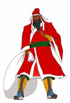 Santa Claus China Continent