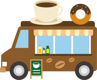 Mobile sales cafe