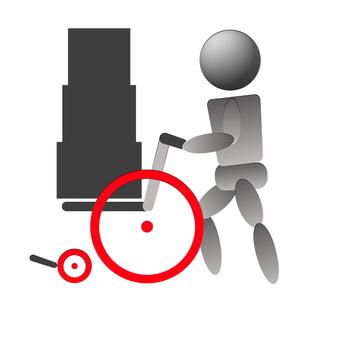 Wheelchair goods transportation NG 1