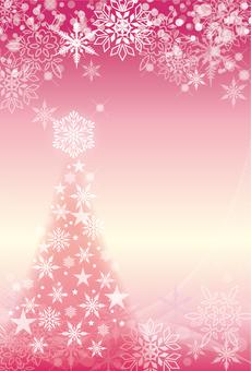 Snow frame Christmas 102