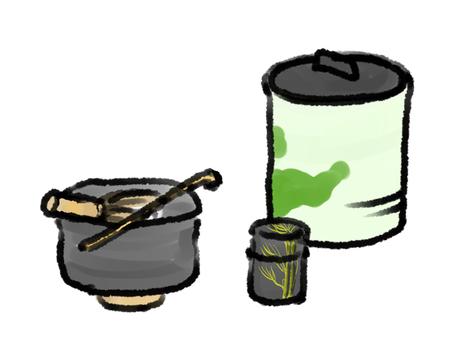 Tea bowl tea ceremony