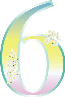 Yukiyanagi _ Gradation _ Flower Font 7