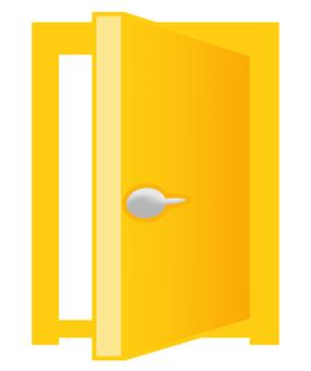 Open door 170430-8