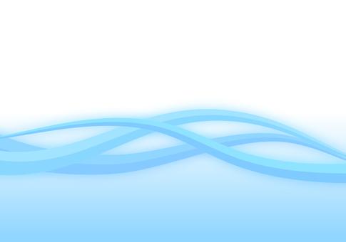 Light blue wave