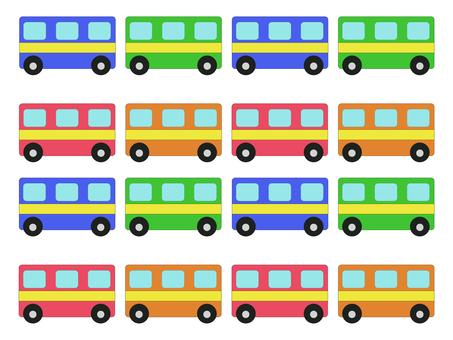 Large bus set