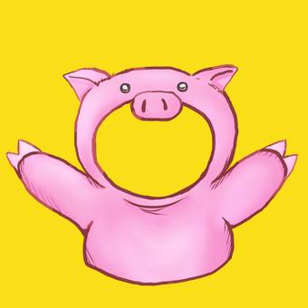 Kigurumi pig