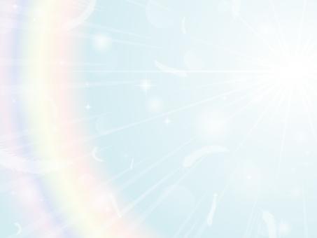Radial background of light 2 blue