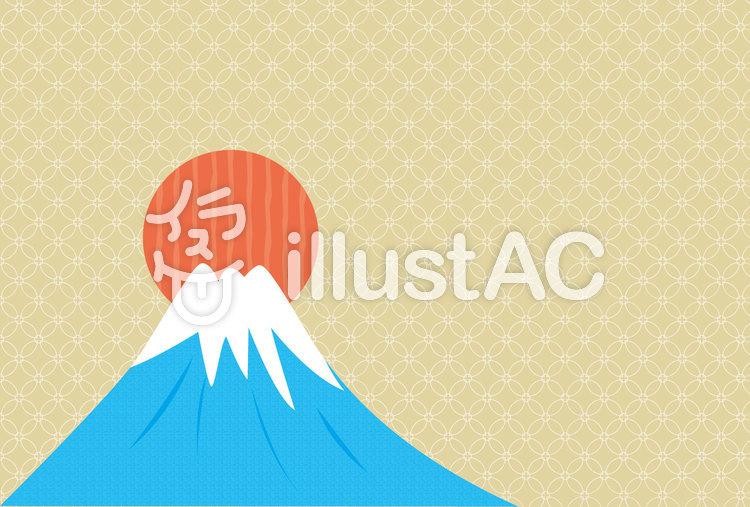 和風の富士山イラスト No 620075無料イラストならイラストac