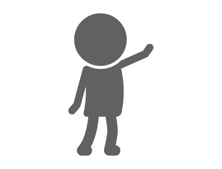 Stickman pictogram _ calling