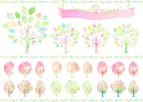 다양한 나무 시리즈 4