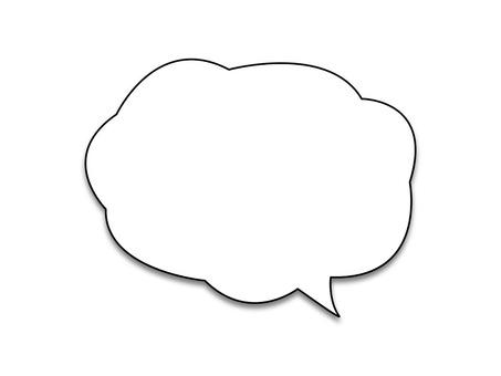Speech bubble illustration