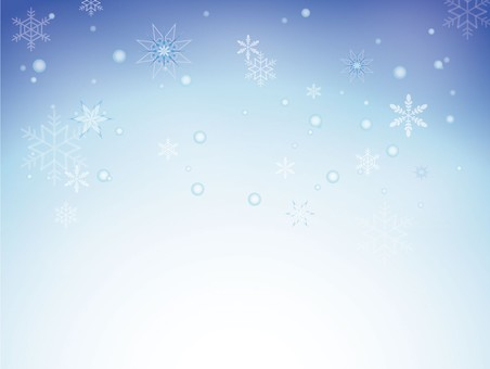 Snow crystal background material