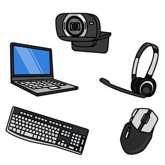 Equipment for comfortable telework