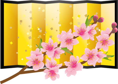 Cut _ peach blossom 2