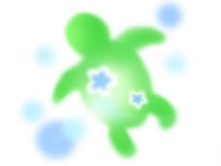 烏龜(綠色)