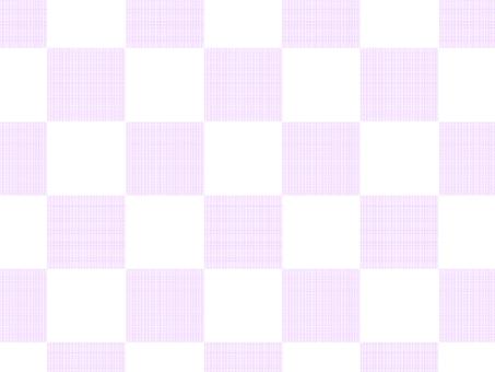 Pattern check (pink)