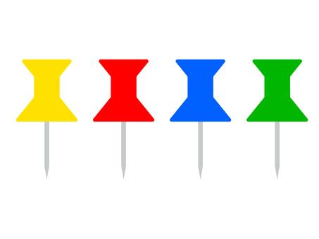 Thumbtack pin