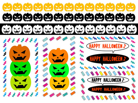 Halloween icon set 3